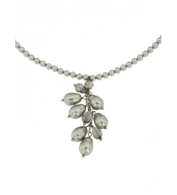 Silver Boccadamo necklace...