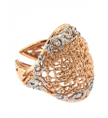 Boccadamo ring in Bronze...