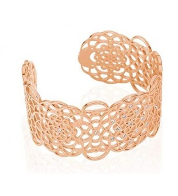 Bangle Stroili in Ottone Rosato e Strass 1661027