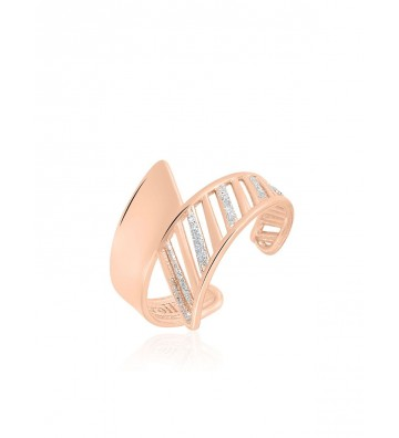 Ring Stroili in Brass Rose...