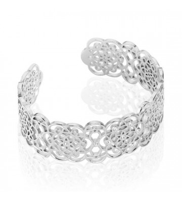 Bracciale Stroili  Bangle in ottone rodiato e Strass 1661026