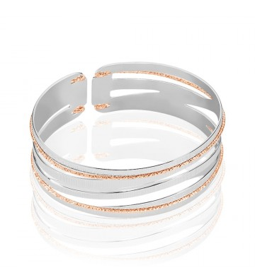 Bangle Stroili small in bronzo bicolore 1661056