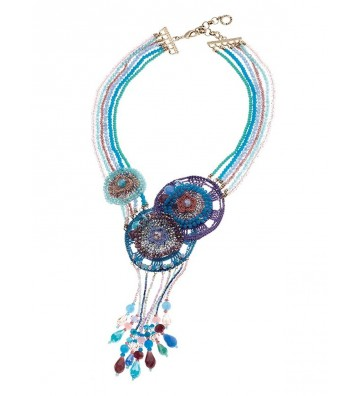 Ottaviani Bijoux Collana con Perline, Multicolor 480212