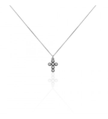 Necklace Stroili Cross in...