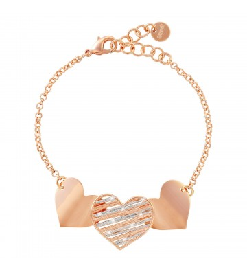 Bracelet Stroili hearts in...