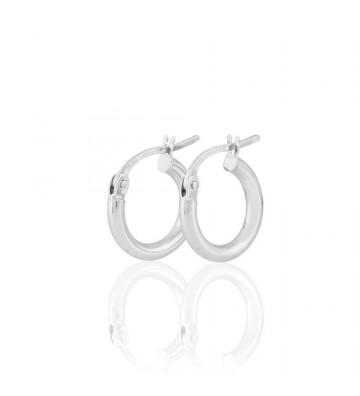 Stroili White gold hoop...