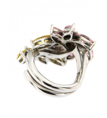 Contrast Ring in Silver...