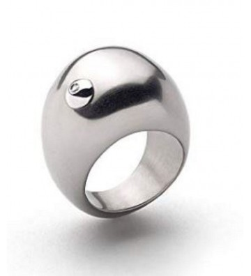 Kiara Ring in Steel with...