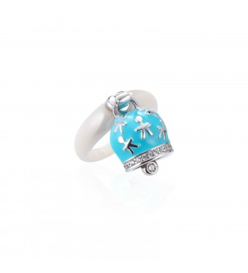 Ceramic ring with Bell With...