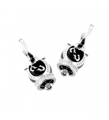 Silver earrings 925/000 in...
