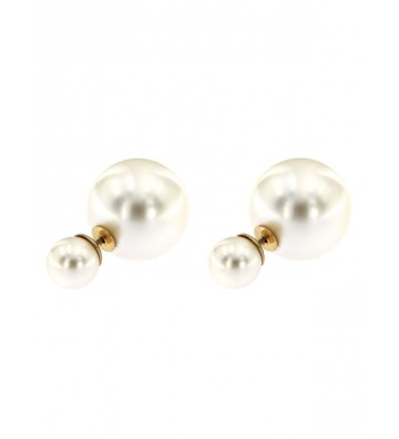 GFORP01 Double Pearl Earrings