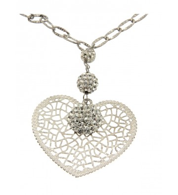 White Gold Necklace 18 Kt...