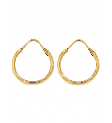 Yellow Gold Earrings 18 Kt...
