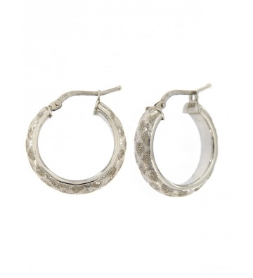 Earrings in White Gold 18...