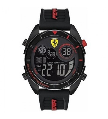 Digital Clock Men'Ferrari...