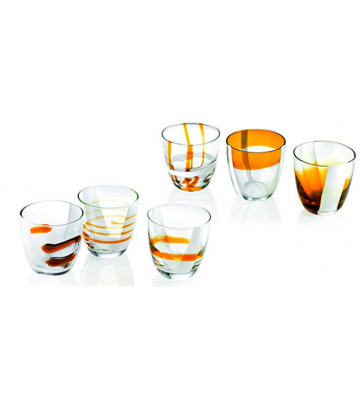 Set Glasses from 6 Yellow...
