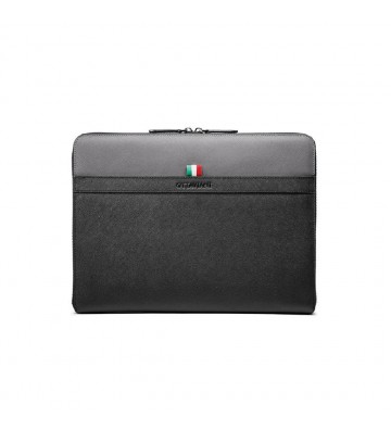 Portadocumenti o ipad in pelle bicolore 87609