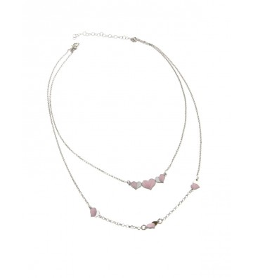 Double Wire necklace in...