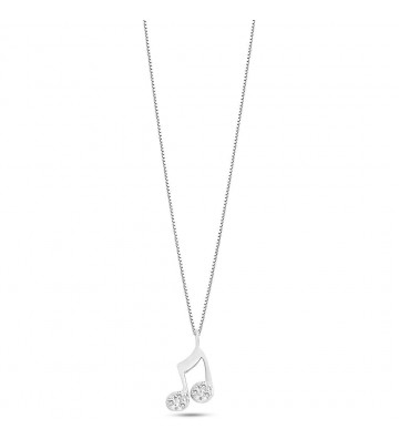 Women's necklace in white...