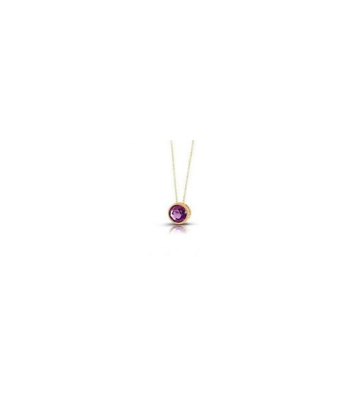 Collana Donna Bliss In Argento Color bronzo