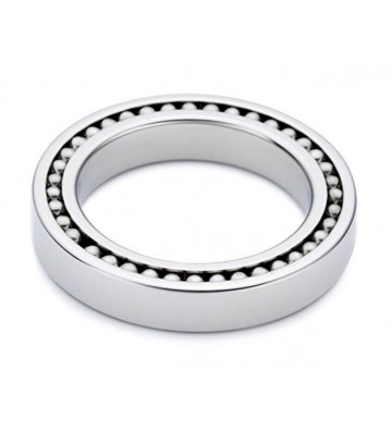 Man'Sector Ring with Balls