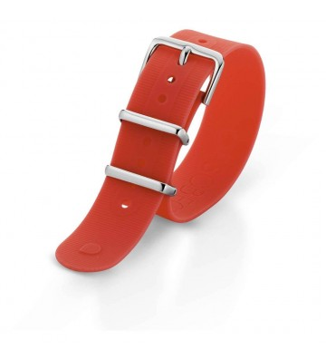 cinturino orologio unisex Ops Objects Ops Posh 11 ROSSO SCURO -