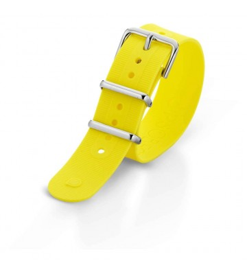 cinturino orologio unisex Ops Objects Ops Posh05 giallo -
