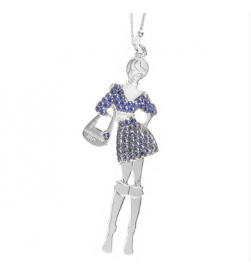 NECKLACE BOCCADAMO DOLL MLGR08