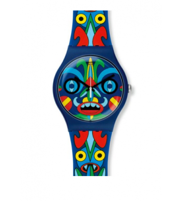 Watch Swatch colorful...