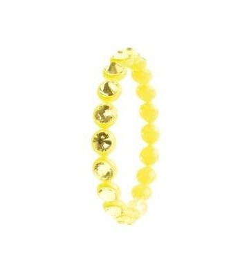 Bracciale OPS OPS!Crystal Tennis Donna Giallo