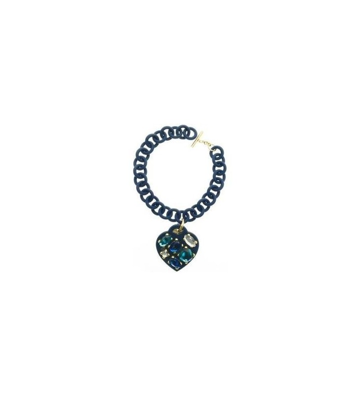 ops! STONE bracciale in resina colore BLUE