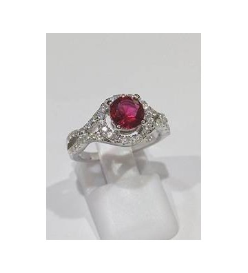 RING IN ARGENTO MODEL WITH...