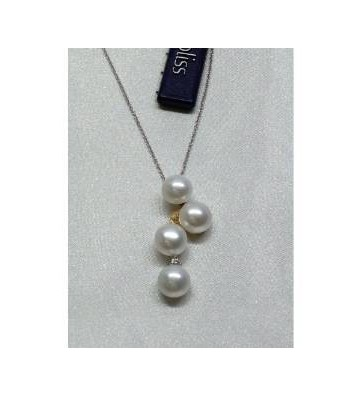 BLISS NECKLACE WHITE AND...