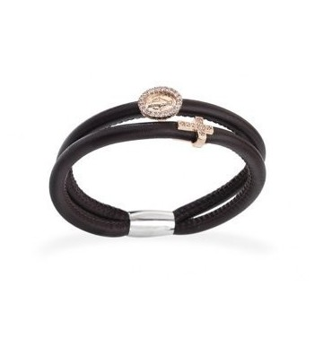 BRACCIALE IN PELLE WITH...