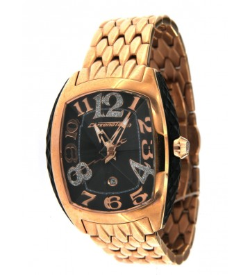 Orologio Donna Chronotech Collezione Crystal On Side Ros