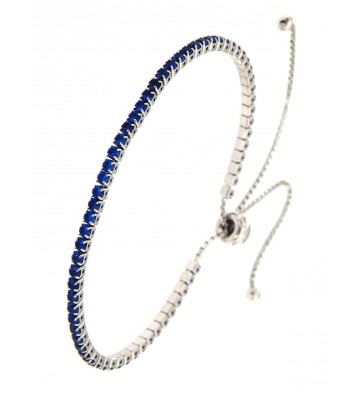 copy of Bracciale Modello Tennis Morbido con Strass Colorati