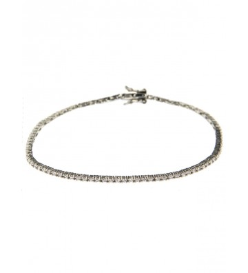 White Tennis bracelet in...
