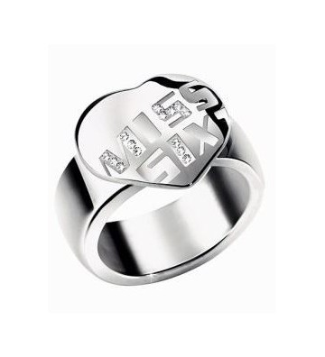 Miss Sixty Ring in Steel...