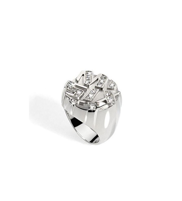 Anello Donna Miss Sixty in Metallo e Zirconi SMPN01016