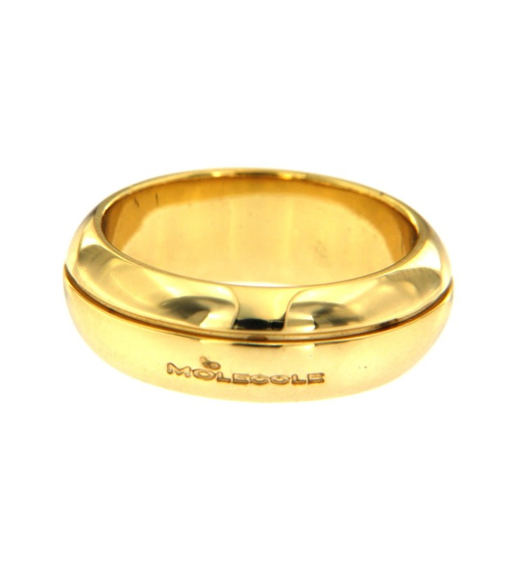 copy of Anello Donna Molecole In Oro Molecolare