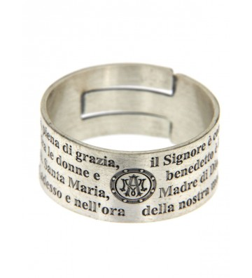 Silver Wide Band Ring...