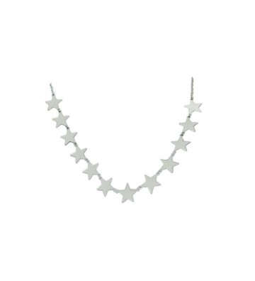 Silver Necklace With 12...