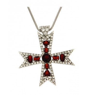Silver Cross Necklace 925th...