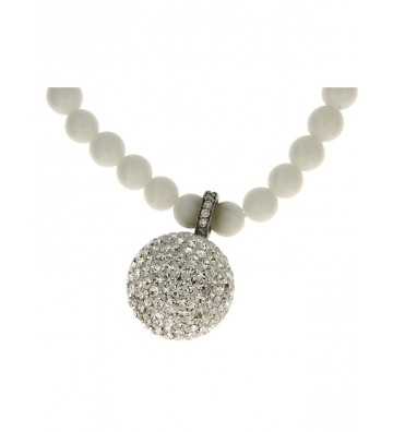 Women's necklace with hard...