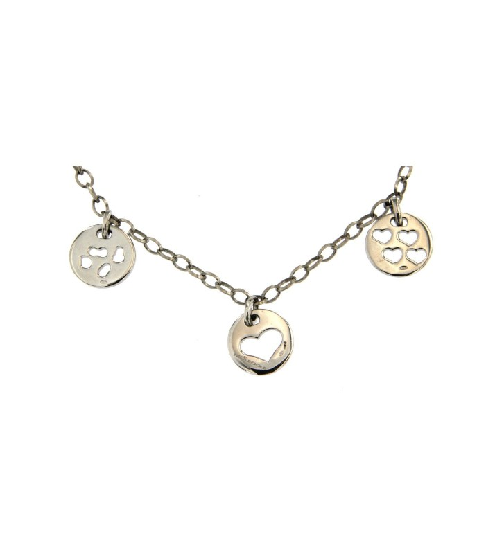 Collana Molecole in Argento 925/000 M0130001