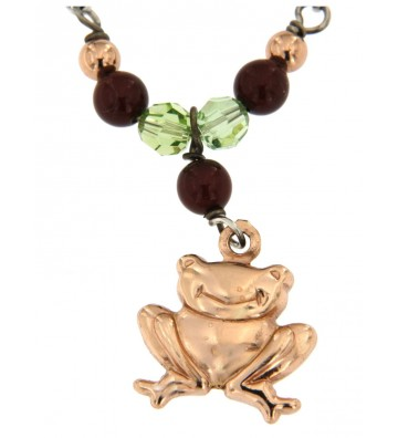 Collana in Argento 925/000 Garantito con Charms e Pietre Colorate Fashionist Style❤ GFCLAR10/A