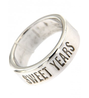 Ring Sweet Years in Silver...