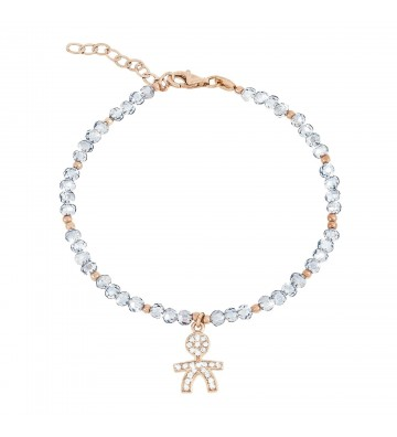 bracciale donna gioielli Ops Objects Ops Love trendy blu