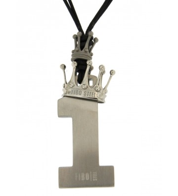 Fibo necklace with black...