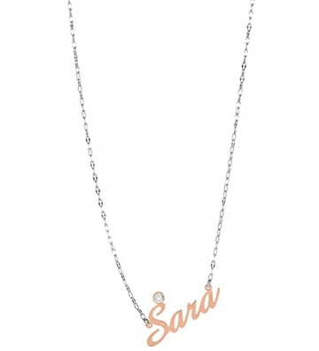18 Kt gold necklace with...